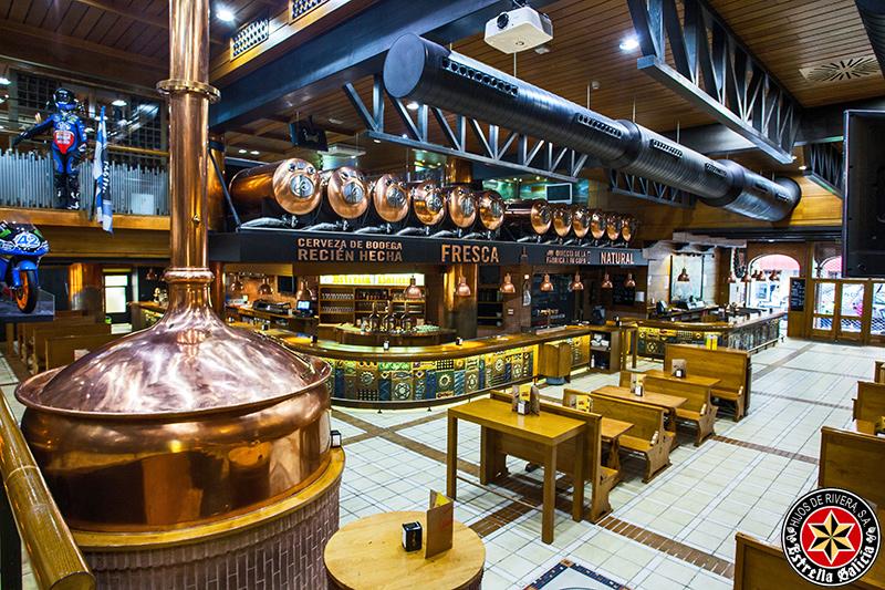 Cervecer as de estrella galicia fotopanorama estudio for Decoracion de cervecerias